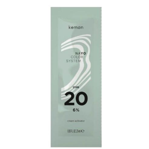Kemon - 20 Vol. Oxidant in Cream Nayo 25 ml