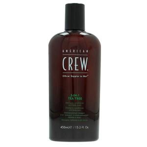 Shampoo Tea Tree 3 In 1 - 450 ml American Crew