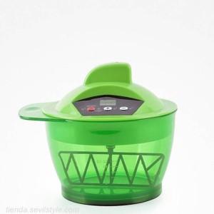 mélangeur à peinture électrique rechargeable 320ml colorant table de mixage vert - bifull