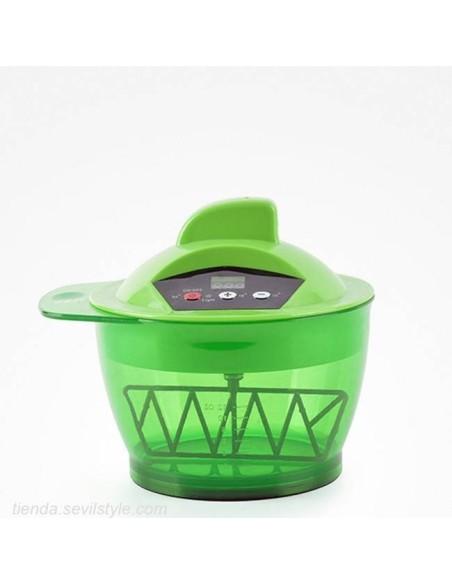 mixer paint electric rechargeable 320ml dye mixer green - bifull