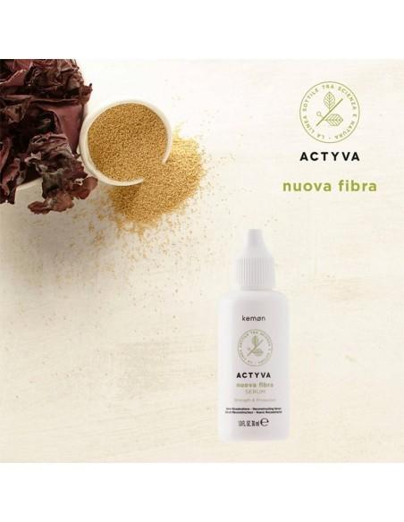 Kemon - Actyva - Serum Nuova Fiber 12 x 30 ml
